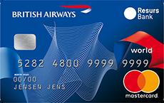 British Airways World MasterCard